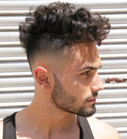 fade haircuts of men