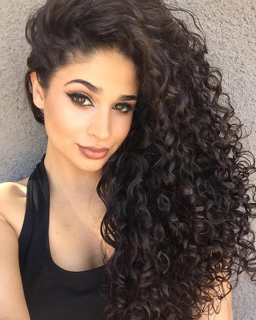20 Long Natural Curly Hairstyles