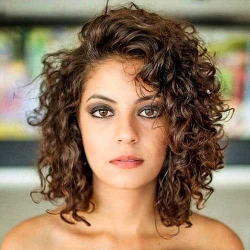 Curly Haircuts Short Hair 17